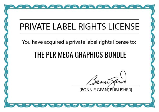 PLR Certificate