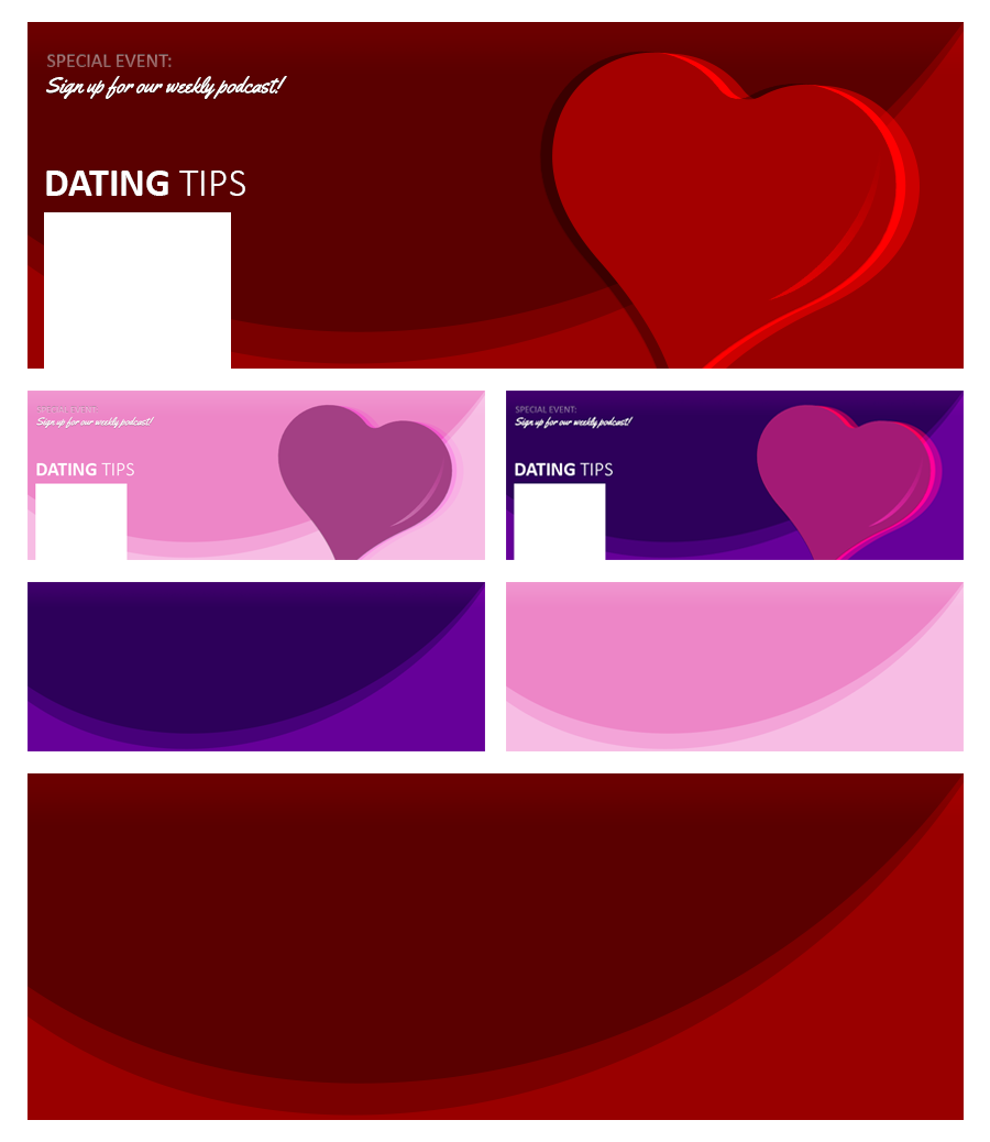 Module 1: Facebook Covers (Dating)